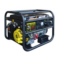 Бензиновый генератор DY6500LXA с АВР Huter