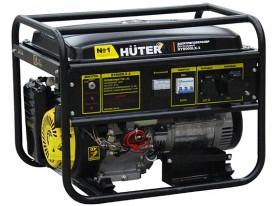 Бензиновый генератор DY8000LX-3 Huter трехфазный