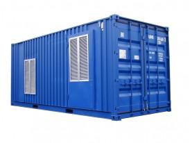 Дизельный генератор Ricardo АД720-Т400 в контейнере с автозапуском