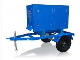 Передвижной дизельный генератор Deutz АД-50С-Т400-1РМ6