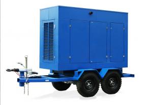 Передвижной дизель генератор Вольво АД-150С-Т400-2Р с автозапуском