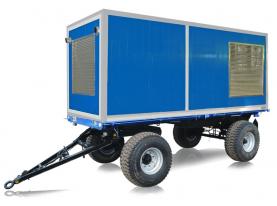 Передвижной дизельный генератор Азимут АД-150С-Т400-1РМ11