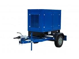 Передвижной дизель-генератор 30 кВт АД-30С-Т400-2РМ13 с автозапуском